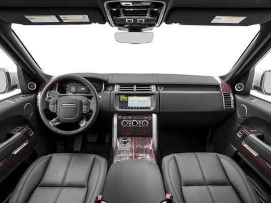 2017 Land Rover Range Rover 5.0 L V8 Supercharged Autobiography >> 2017 Land Rover Range Rover 5 0l V8 Supercharged Autobiography Lwb