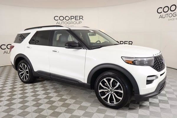 2020 ford explorer st in edmond ok oklahoma city ford explorer jackie cooper mini 2020 ford explorer st